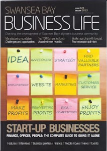 Business Life Front Cover