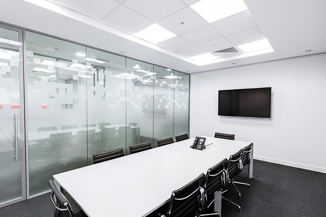 Business telecom products and meeting room devices